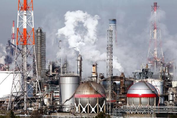 化学工場排水