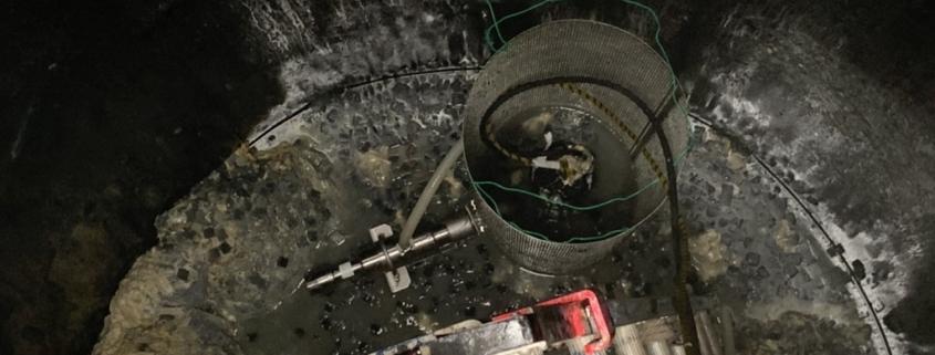 食品工場にてマイクロバブルを使った排水処理