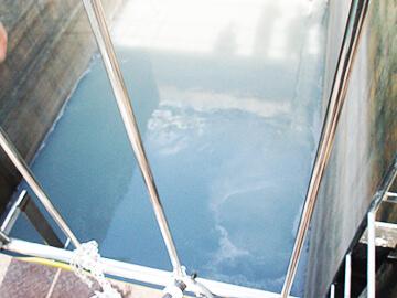 広大な水域でも使用可能