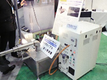 マイクロバブル発生装置「YJノズル」はオゾンガス発生装置との併用でより効果を発揮します