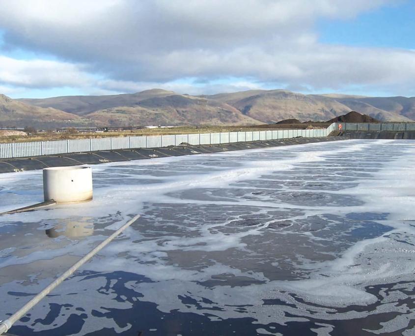 排水処理設備の処理能力向上