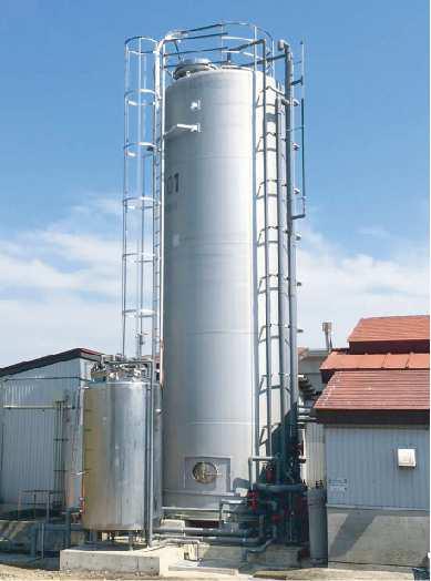 オーザック排水処理システム全景